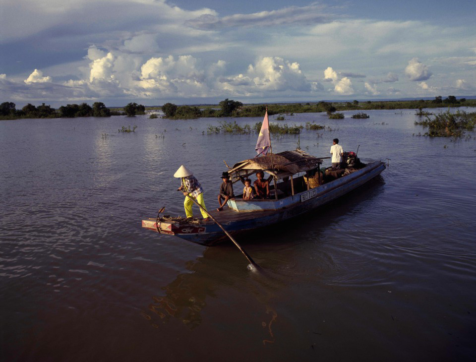 Ben Davies Slow boats on the Mekong
